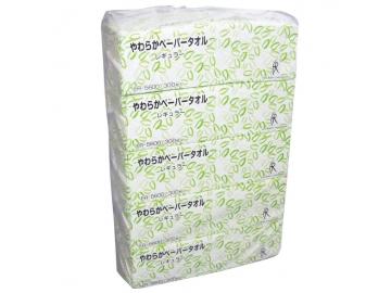 やわらかペーパータオル レギュラー 300枚×60パック(中判シングル)