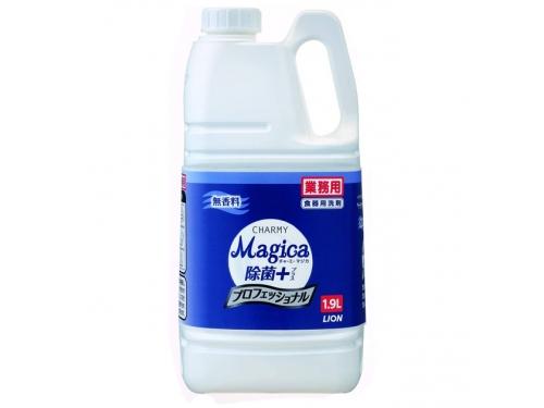 チャーミー マジカ 除菌+ プロフェッショナル 無香料 1.9L(台所用中性洗剤)