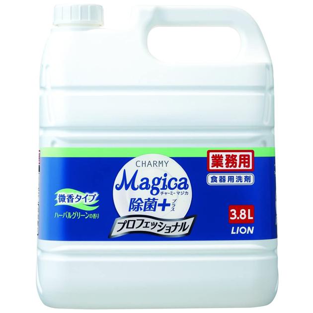 チャーミー マジカ 除菌プラス ハーバルグリーンの香り 3.8L×3本(台所用洗剤)