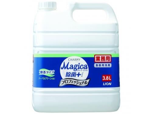 チャーミー マジカ 除菌プラス プロフェッショナル ハーバルグリーンの香り 3.8L(台所用洗剤)