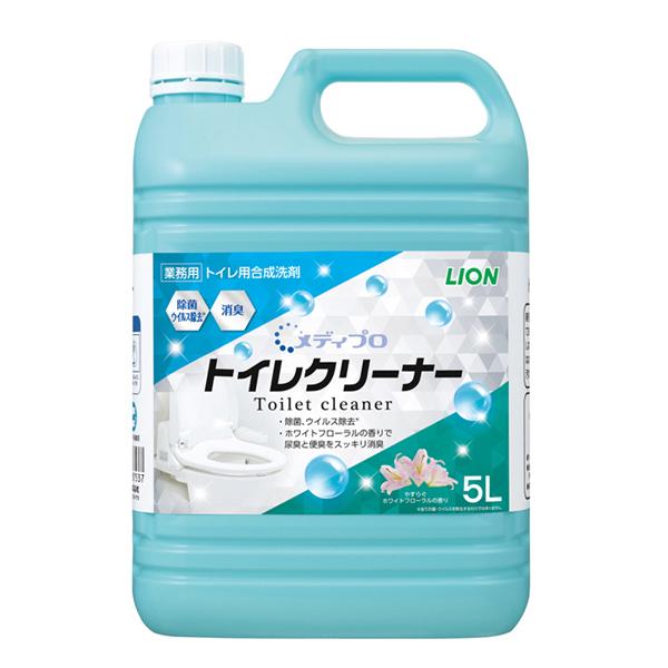 メディプロ トイレクリーナー 5L×2本(トイレ用洗剤)