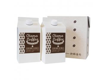 Otama Coffee ORIGINAL BLEND 2本入 化粧箱入 コーヒー 珈琲 福島土産 大玉村*