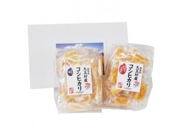 コシヒカリせんべい ギフトセット 塩×きなこ甘醤油 福島土産 大玉村*