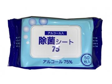 アルコール入 除菌シート 50枚入(高濃度タイプ)
