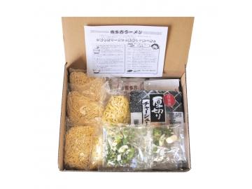 河京喜多方ラーメン5食チャーシュー具材付き 福島土産*