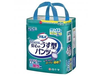 【在庫処分品】サルバ Dパンツやわらかスリム うす型スーパー M-Lサイズ 22枚入(約3回分吸収)