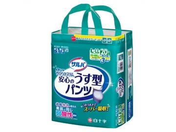 【在庫処分品】サルバ Dパンツやわらかスリム うす型スーパー L-LLサイズ 20枚入(約3回分吸収)