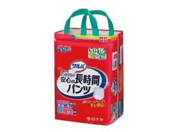 【在庫処分品】サルバ Dパンツしっかりガード長時間 L-LLサイズ 16枚入(約5回分吸収)