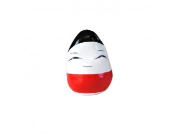起き上がり小法師 小 (3cm) 赤 会津民芸品 福島土産