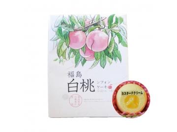 福島白桃シフォンケーキ (小) 12個入り