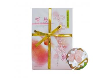 やわらか桃餅 三段 4点セット(1箱10個入り×3段×4点)