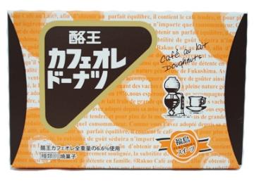 酪王カフェオレドーナツ 6個入り 5箱セット