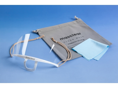 透明衛生マスク マスクリア エコノ(10組入)