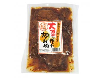 大豆で作った畑のお肉 生姜焼風味