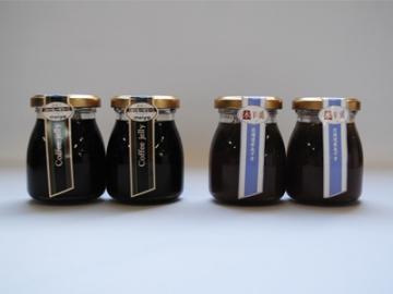 北海道あずき水羊羹&深煎り珈琲ゼリー 4個セット