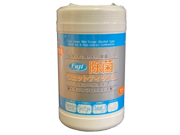 フジ 除菌ウェットティッシュ 業務用 100枚入(アルコールタイプ)