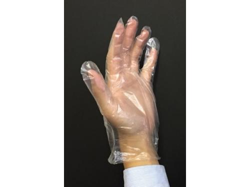 ポリエチレン製ディスポ手袋 100枚入×40パック ポリエチレン製手袋
