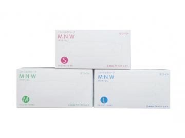ニトリルグローブMNW ホワイト 100枚入×10箱