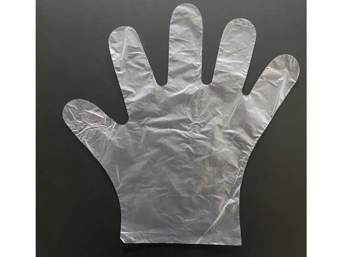 【熱ポリセット】ポリエチレン手袋4000枚+プラスチック手袋 1000枚