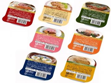 【便利な詰合せ】 こだわりシェフのやわらかメニュー 煮こごり7種セット (42食)