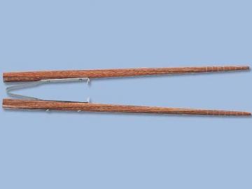 楽々箸 (ピンセットタイプ すべり止め付)