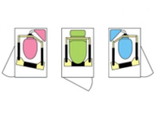 トイレの手すり(ワイド&菱形タイプ) MW30