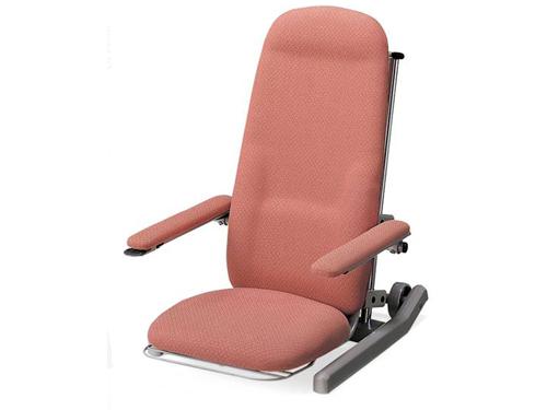 アシスタンド座イス(布張りタイプ)電動昇降座椅子