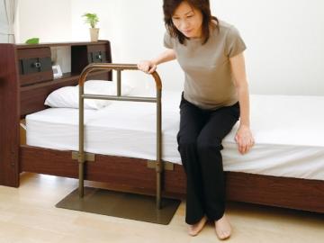 【3月のお買得品】ベッド用手すり しんすけST