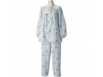 愛情らくらくパジャマ 婦人用長袖(春夏用)