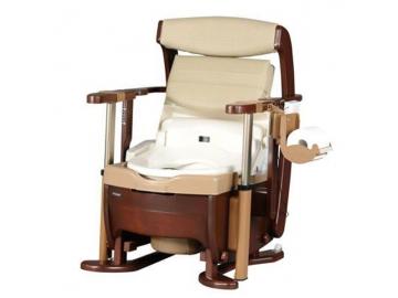 家具調トイレ<座楽> シャワポット ひじ掛け昇降(洗浄・乾燥機能付)