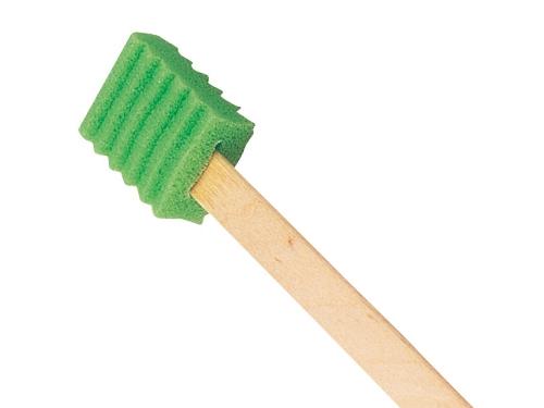 ハミングッドハード (50本入/250本入)口腔清掃用スポンジブラシ