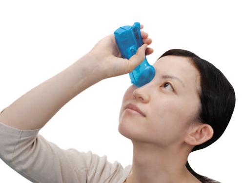 点眼補助具 らくらく点眼III きっちり固定にぎるだけ