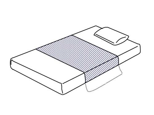 アイケア AK耐熱防水デニムシーツ
