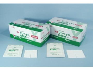 滅菌プレペイドP Yカットガーゼ (滅菌済ガーゼ)
