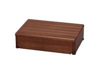 安寿 木製玄関台 1段タイプ