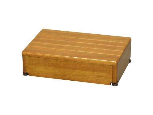 安寿 木製玄関台 45W-30-1段(幅45×奥行30×高さ12cm)