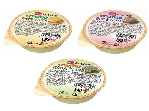 【便利な詰合せ】 おいしく栄養 かまなくてよい プリンセット (18食)