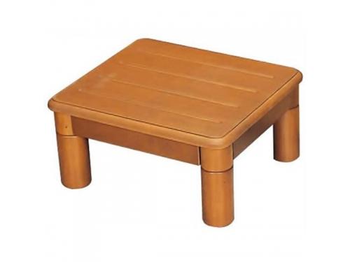 木製玄関ステップ1段 400(幅40×奥行35×高さ8〜20cm)