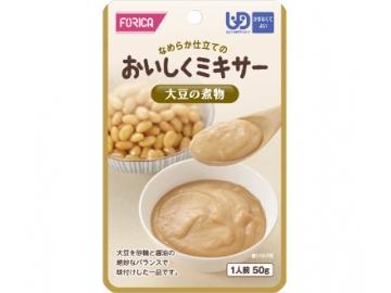 おいしくミキサー 大豆の煮物