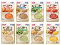 【9月のお買得品】 おいしくミキサー おかず8種詰合せ (24食)
