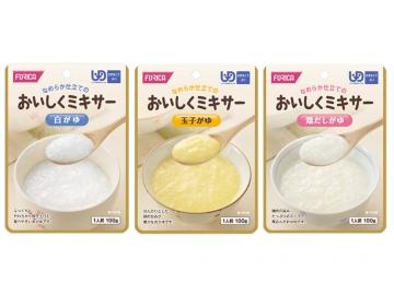 【便利な詰合せ】おいしくミキサー おかゆ3種詰合せ(36食)