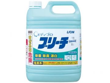 除菌漂白剤 メディプロブリーチ (次亜塩素酸6%)5kg×3本
