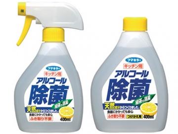 【除菌スプレー】 キッチン用アルコール除菌スプレー