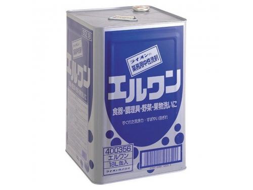 ライオン 業務用中性洗剤 エルワン 18L