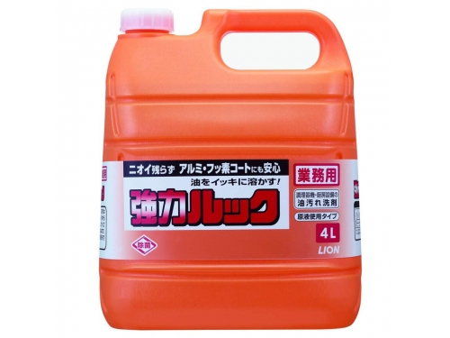 ライオン 業務用強力ルック 4L×3本入 (厨房用洗剤)
