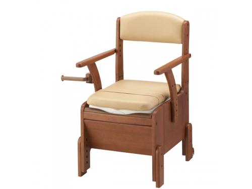 【9月のお買得品】 安寿 家具調トイレ コンパクト <標準便座タイプ>