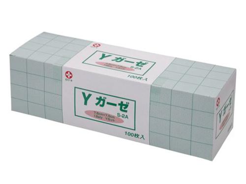Yガーゼ 7.5×7.5cm 【未滅菌/滅菌済】(医療ガーゼ)