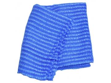 ロング泡だちナイロンタオル 超かため 120cm ブルー