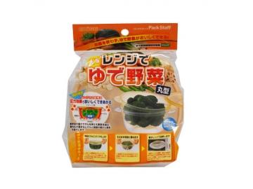 レンジでゆで野菜 丸型