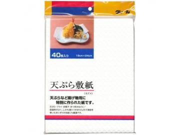 クレール天ぷら敷き紙 カゴメ 40枚入